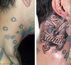 The Southern Cross Tattoo Has Fallen Out Of Favour With An Increasing Number Punters