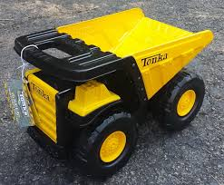 Tonka MIghty Dump Truck Toy.