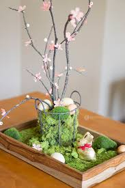 Diy Easter Table Centerpiece Martha Stewart Centerpieces