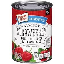 stock Simply Strawberry Pie Filling & Topping 21 oz