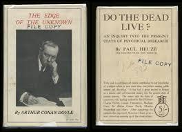 Vintage Ad Archive Halloween Hysteria by Fairies Spiritualism And Sir Arthur Conan Doyle The Chapel