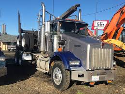 2005 Kenworth T800 Logging Truck With 2005 Assembled Trailer For ...