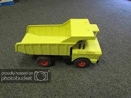 100 Vintage Tonka Truck Big Dump Yellow Boys Toy Car Collectible