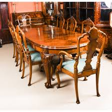Antique Edwardian Queen Anne Revival Dining Table & 8 Chairs Early ... Tiger Oak Fniture Antique 1900 S Tiger Oak Round Pedestal With Ding Chairs French Gothic Set 6 Wood Leather 4 Victorian Pressed Spindle Back Circa Room 1900s For Sale At Pamono Antique Ding Chairs Of Eight Chippendale Style Mahogany 10 Arts Crafts Seats C1900 Glagow Antiques Atlas Edwardian Queen Anne Revival Table 8 Early Sets 001940s Extendable With Ball Claw Feet Idenfication Guide