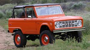 100 Icon Trucks Beautiful ICON Bronco Restomod Sold For A Great Cause Ford