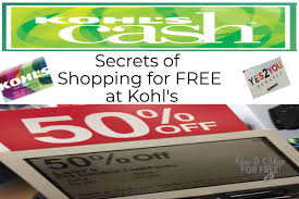 Kohl's Coupons And Insider Secrets 30% Off Coupon | How To ...