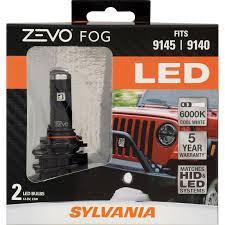 5 year warranty sylvania 9145 9140 zevo led fog bulb sylvania