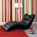 Contempo Zagato Chaise Longue Leather - Modern Chaise Lounge Chairs