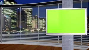 NEW FREE Green Screen Studio Set 3 Different Angles Awesome City Background