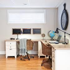 bureau discret bureau pour le travail en duo bureau inspirations décoration