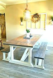 Farmhouse Dining Room Chairs Farm Table And Style The Kitchen Picture