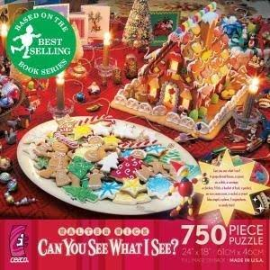 Ceaco Can You See What I See? Night Before Christmas 750-Piece Jigsaw Puzzle