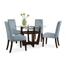 Alcove Aqua Chair By Dinette Sets Plus Glass Top Table For Dining Room Furniture Ideas