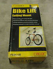 Racor Ceiling Mount Bike Lift by Prostor Bicycle Stands And Storage Ebay