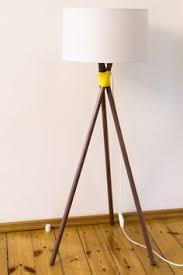 DIY Stehlampe In Kupfer Mit Gelbem Seil
