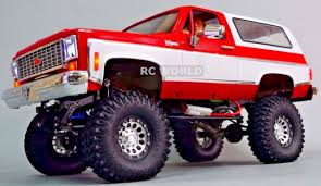 100 Rc Truck With Plow 110 RC CUSTOM All Metal CHEVY BLAZER K5 RC 2SPEED 4WD