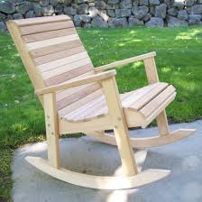 furniture tandl rocking chair in natural by hinkle chair company