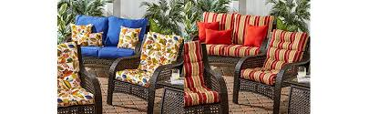 Amazon Prime Patio Chair Cushions by Amazon Com Greendale Home Fashions Indoor Outdoor High Back Chair
