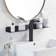 3 farben schwarz raum aluminium lagerung bad regal wc spiegel front objekt wand montieren kostenloser punch wc waschtisch regal