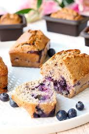 gesunder kuchen mit heidelbeeren und chiasamen perfekt für