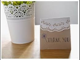 DIY Quick Easy Rustic Bohemian Wedding Thank You Cards