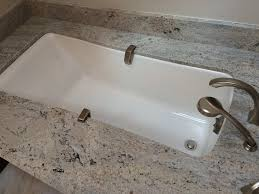 Kohler Coralais Kitchen Faucet Amazon by Kohler Maestro Undermount Tub With Celo De Marfil Granite Sagent