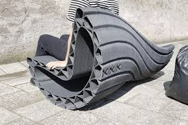 Street Furniture Made From Recycled And 3D-printed Plastic - Curbed Best Rated In Patio Rocking Chairs Helpful Customer Reviews Windsor Cottage Deluxe Rocker By The Yard Inc How To Buy An Outdoor Chair Trex Fniture Charleston Series Adirondack Recycled Plastic Highwood Classic Westport Federal Blue Endless Rocking Chair Dirk Vander Kooij Masaya Co Amador Pattern Manila Made Trade Pallet Wood Hand Made Farmhouse Style Etsy Livingroom Luxury Pair Of Vintage Painted Yacht Club Charcoal Black Modern From 100 Recycled Materials Off A Brief History Of One Americas Favorite