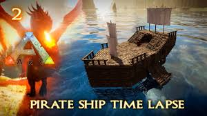 100 Design A Pirate Ship Build Time Lapse In Game Of Rk Server Episode 2