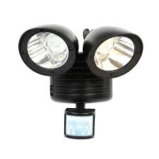imountek led outdoor security floodlight with light sensor and