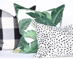 Oversized Throw Pillows Canada by Trending Banana Leaf Decor Summer Interiors U002717 Pinterest
