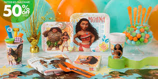 Halloween City Mcallen Tx Hours by Moana Party Supplies Moana Birthday Party Ideas Party City