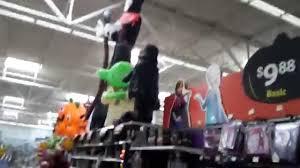 Halloween Blow Up Yard Decorations Canada by Walmart Halloween 2015 Spooky Feeling Youtube