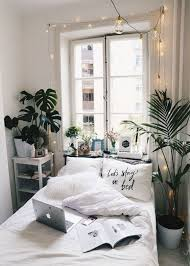 I Really Love How This Small Room Looks So Spacious Thanks To The White Details And Light Window Always Use Some Greens Twinkle Lights Make