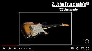 John Frusciantes 1962 Fender Stratocaster