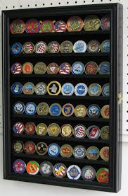 Military Coin Display Case