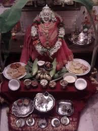 Varalakshmi Vratham Decoration Ideas Usa by Varalakshmi Puja Decoration Mahalakshmi Pooja Pinterest