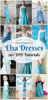 Awesome List Of 20 DIY Elsa Costume Dresses And Accessories Its Giving Me Some