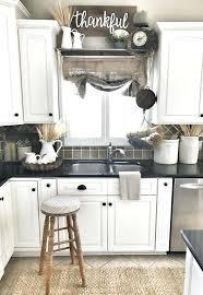 Lovely Black White Kitchen Curtains New Best Window Ideas On Farmhouse Decor Burlap Sack Curtain Bless This Nest Interior Design Gingham