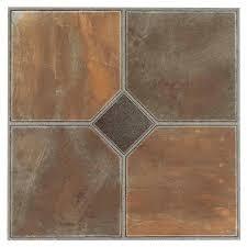 nexus rustic slate 12x12 self adhesive vinyl floor tile 20 tiles