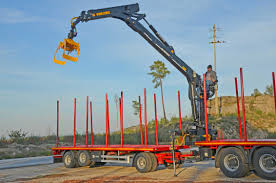 Truck-mounted Forestry Crane / Knuckle Boom - 114N - Industrias ...