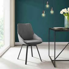 inosign esszimmerstuhl merisa 2er set mit gepolstertem sitz und rückenlehne modernes design drehbar