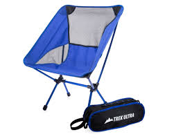 100 Folding Chair With Carrying Case TrekUltra Portable Compact Lightweight Camp With Bag Ultraligh