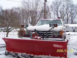 Adding A Snow Plow - 80-96 Ford Bronco - 66-96 Ford Broncos - Early ... 2009 Intertional 4400 Snow Plow Truck Imel Motor Sales 1981 Gmc Brigadier With Snow Plow For Auction Municibid Western Hts Halfton Snplow Western Products Best Plows For Pickup Trucks Price 2013 Ford F250 4x4 Sale Near Portland Me Pro Equipment Inc Ice Removal Potential Fuel Tax Increase Impact To Winnebago County Attachable Blades Northern Tool 2004 Mack Granite Cv712 1way Dump Salt Liquid 2002 F450 Super Duty Truck Item H3806 Sol Military Youtube Canada Resource