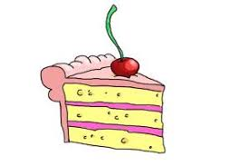 How to Draw a Slice Cake