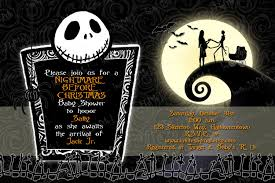 Nightmare Before Christmas Baby Room Decor by Nightmare Before Christmas Baby Shower Invitations Home Design