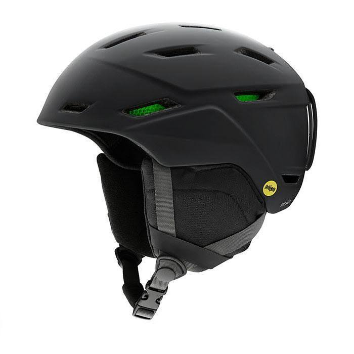 Smith - Mission Matte Black Large Snow Helmet