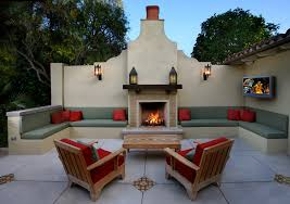 Awe Inspiring Outdoor Wall Sconce Decorating Ideas Images In Patio Mediterranean Design