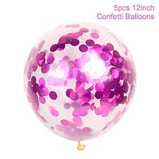 Pink Blue Latex Balloons One Year Old 1st Happy Birthday Party Decor