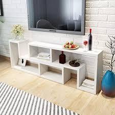 retrome tv schrank wohnzimmer modern tv tisch doppel l form