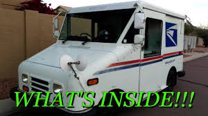 Vehicle TOUR: POST OFFICE DELIVERY TRUCK - YouTube